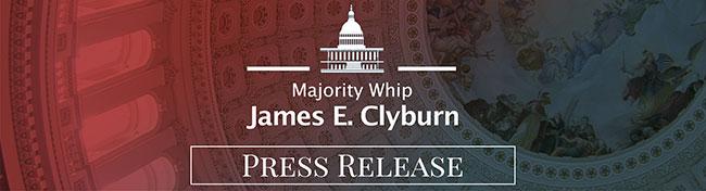 Majority Whip Clyburn Whip Press Release